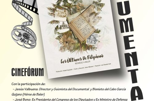 "Cinefórum sobre el documental ""Los Últimos de Filipinas. Regreso a Baler"" en el Instituto de Historia y Cultura Militar"